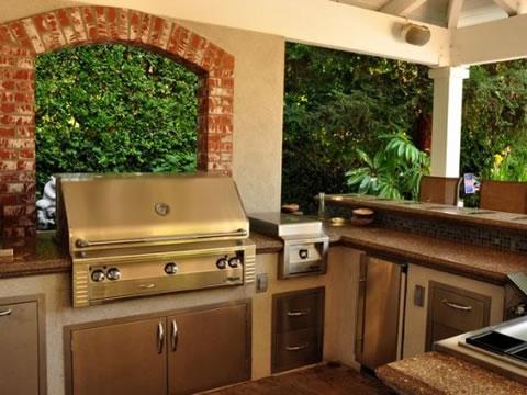 10 ideas para cocinas de exterior On cocinas de gas para exterior