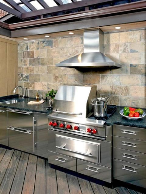 10 ideas para cocinas de exterior for Cocinas de exterior