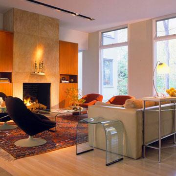 Chimeneas de estilo moderno - Decoracion para chimeneas de lena ...