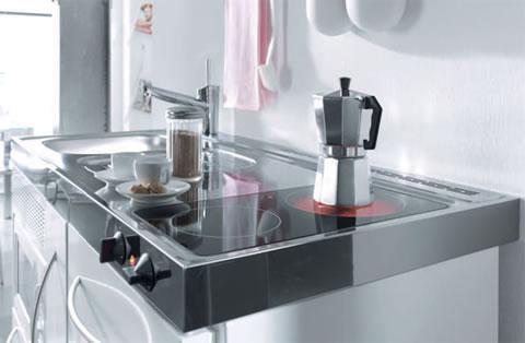 mini cocinas para poco espacio 1