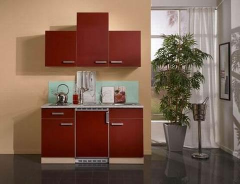 Mini cocinas para espacios muy peque os for Cocinas en espacios reducidos fotos