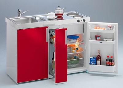 Mini cocinas para espacios muy peque os for Cocinas en departamentos pequenos