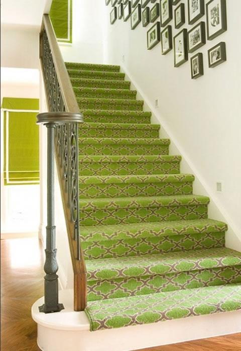 Alfombrar las escaleras for Escaleras con alfombra
