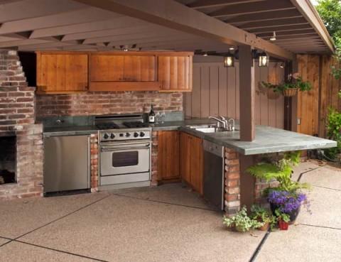 Barbacoas y cocinas de exterior - Cocinas de exterior con barbacoa ...