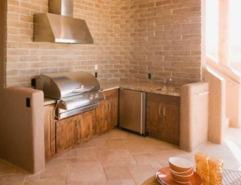 Barbacoas y cocinas de exterior - Cocinas de obra ideas ...