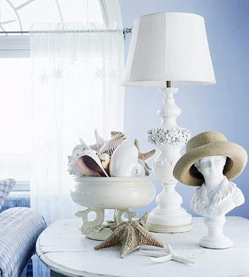 decorar con caracoles y conchas de mar 12