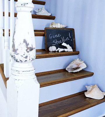 decorar con caracoles y conchas de mar 13