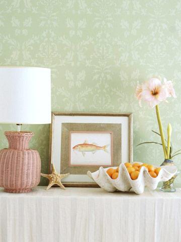 decorar con caracoles y conchas de mar 2