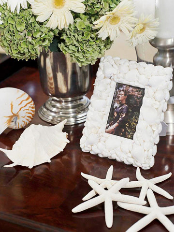 decorar con caracoles y conchas de mar 5