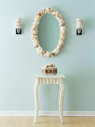 decorar con caracoles y conchas de mar 8