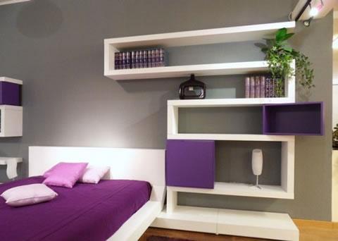 Elige originales estanter as para decorar - Estanterias para dormitorios ...