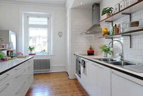 30 Cocinas De Estilo Escandinavo