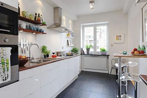 30 cocinas de estilo escandinavo for Alfombras estilo escandinavo