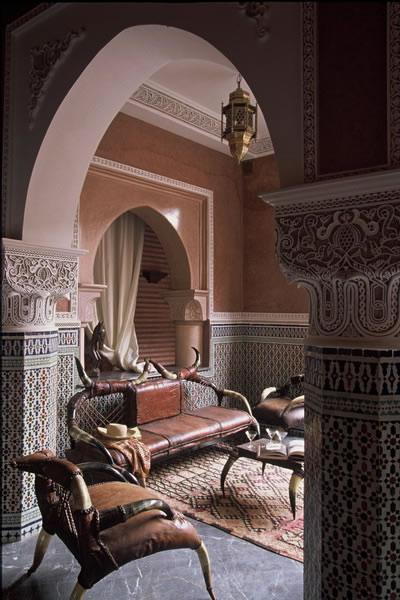 salas de estilo marroqui. Black Bedroom Furniture Sets. Home Design Ideas