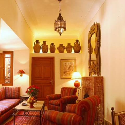 Salas de estilo marroqui for Decoracion marroqui