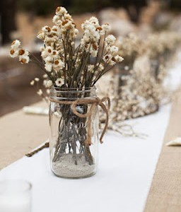 Flores Secas Para Decorar Para Compensar Hoy Os Traigo Una Idea - Decorar-con-flores-secas