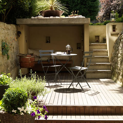 Patios for townhouses pictures joy studio design gallery for Ideas para patios