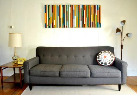 panel multicolor para el hogar