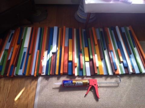 panel multicolor para el hogar 4