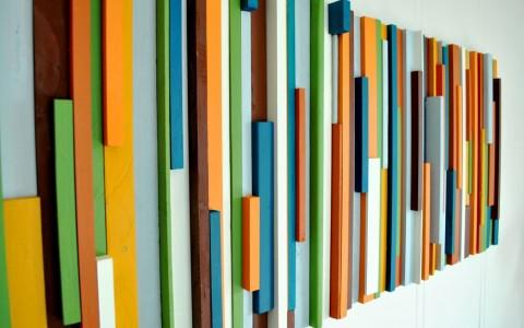 panel multicolor para el hogar 6