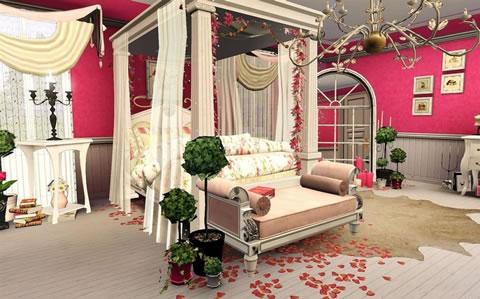 Detalles para una velada romántica en la habitación 9