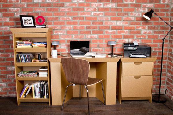 Muebles de cartón 100% reciclables 1
