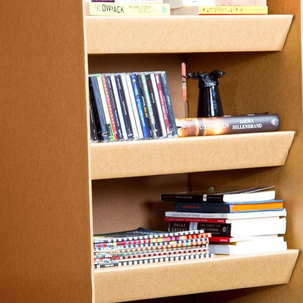 Muebles de cartón 100% reciclables 2