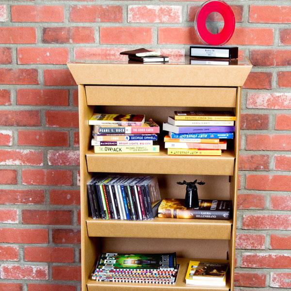 Muebles de cartón 100% reciclables 3