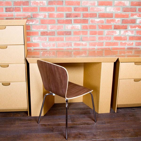 Muebles de cartón 100% reciclables 4
