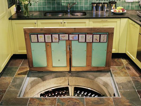 Bodega espiral en casa 6 gu a para decorar - Bodegas en casa ...
