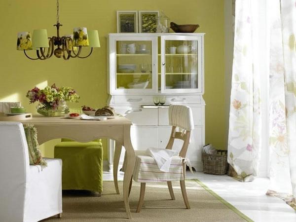 Comedor 8 ideas a todo color for Colores para cocina comedor