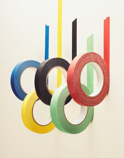 Decorar con motivos olímpicos 1