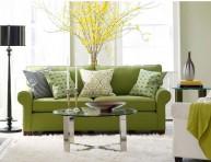 imagen El color verde para la sala