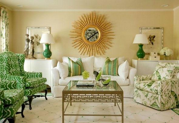 Color verde para la sala 10