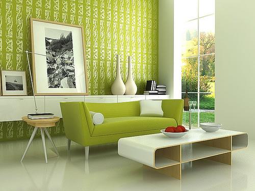 Color verde para la sala 2
