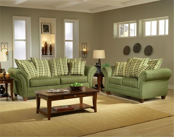 Color verde para la sala 4