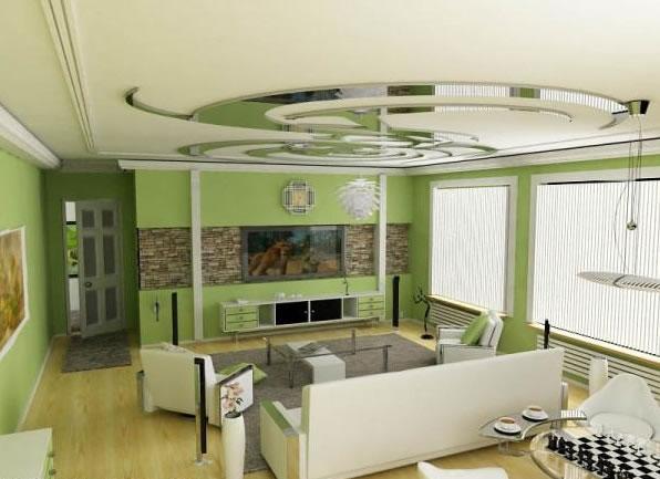 Color verde para la sala 6