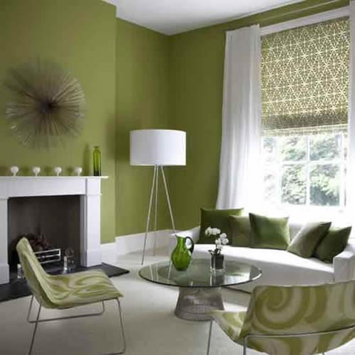 Color verde para la sala 7