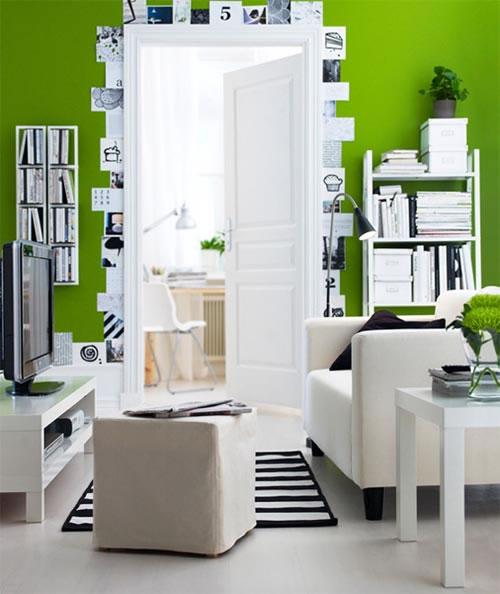 Color verde para la sala 9