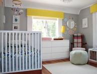 imagen Una habitación para el bebé con detalles retro