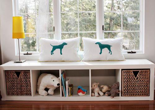 Habitación para bebés con detalles retro 5
