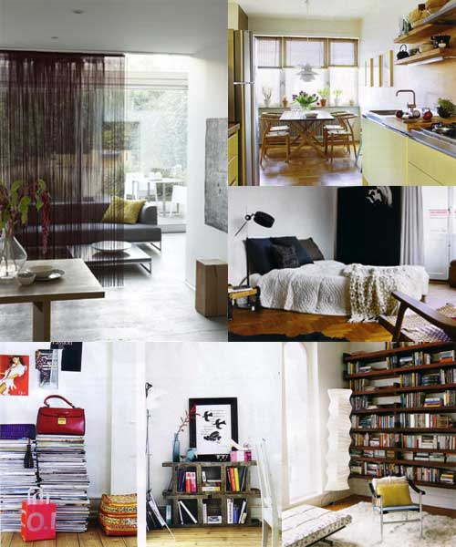 20 ideas para espacios peque os for Ideas para decorar living comedor pequeno