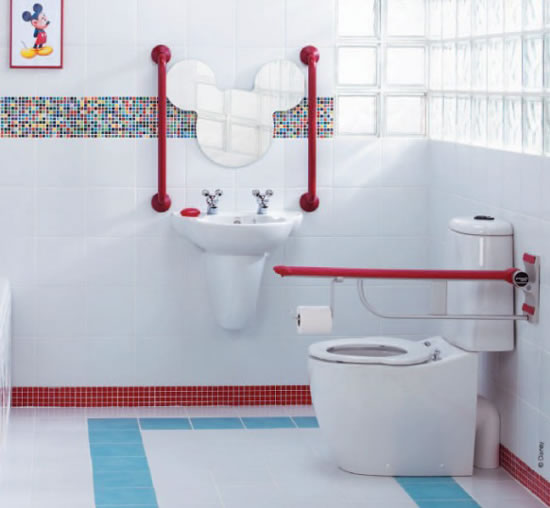 Decoracion Baños De Ninas:Kids Bathroom Decor Ideas