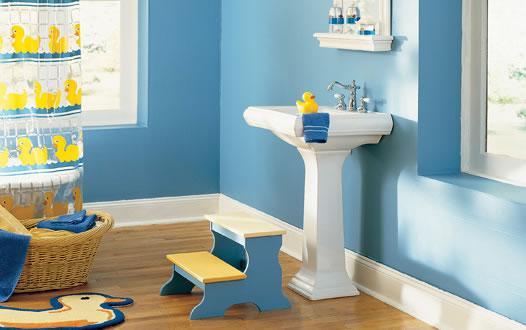Baños para niños 4