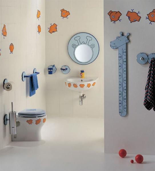 Baños para niños 5