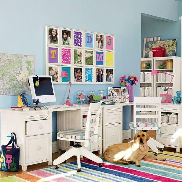 Decoraci n e ideas para mi hogar zona de estudio para - Como decorar un estudio ...