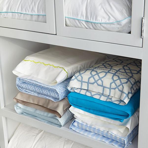 Como almacenar tu ropa de cama
