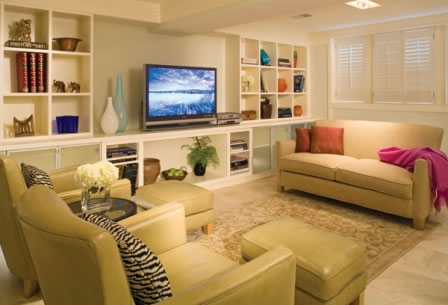 Consejos para decorar un s tano - Small finished basements for teenager girls ...