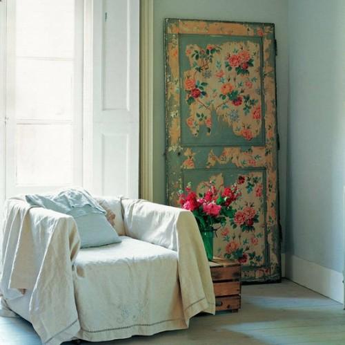 Puertas con papel pintado 6