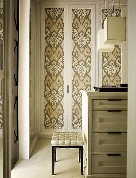 Puertas con papel pintado 9